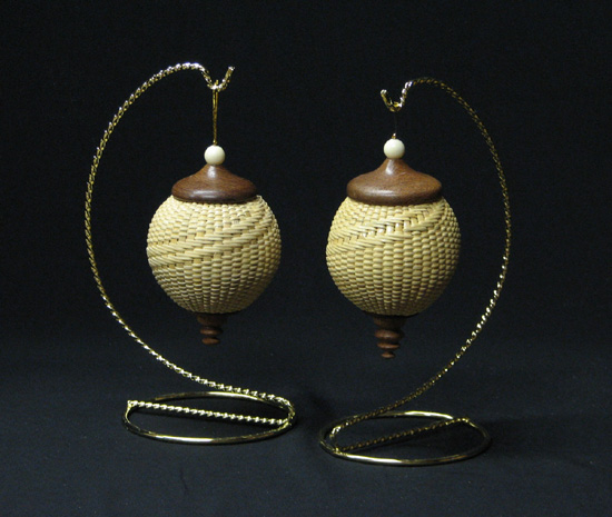 Nantucket Ball Ornaments